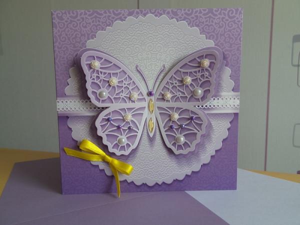 Grußkarte Schmetterling
