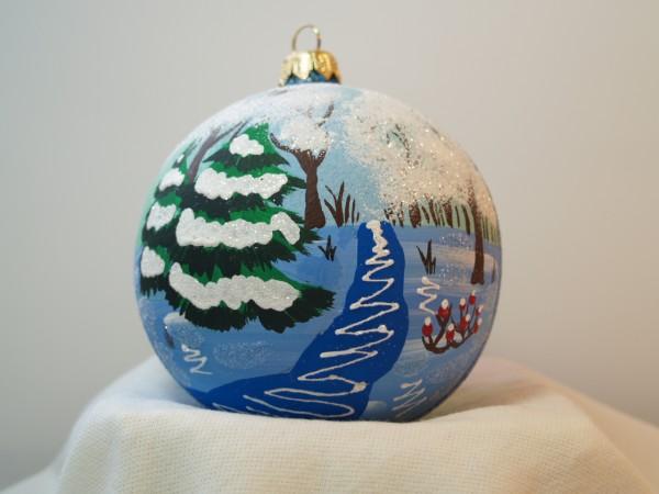 handbemalte Weihnachtskugel
