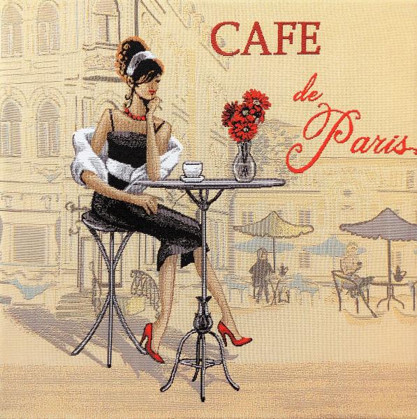 """Gobelin Bild """"Café de Paris"""""""