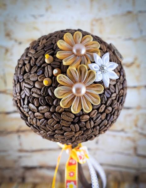 Topiary Tischdekor Kaffeebaum Dekobaum