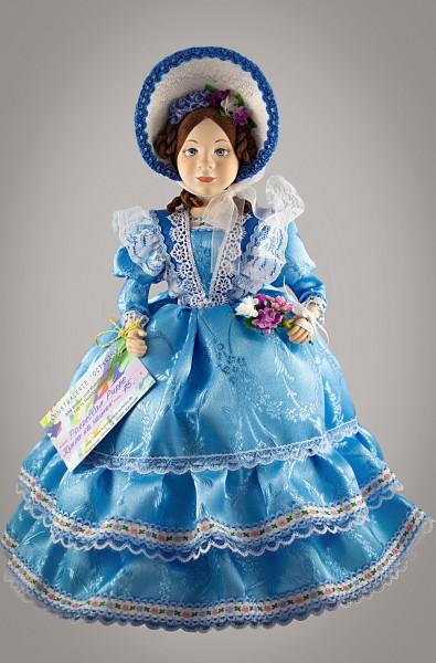 Exklusive Teehaube, Puppe Frülings-Lady, Teewärmer
