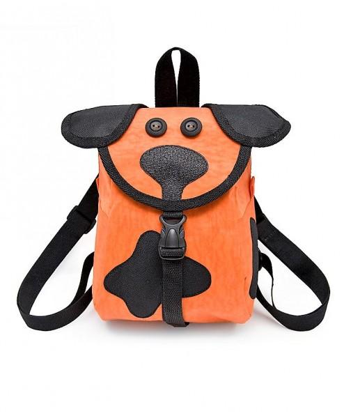 """Kinderrucksack """"Hund"""", Designer Rucksäcke für Kinder, orange"""