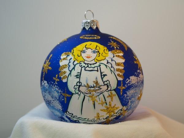 Weihnachtskugel mit Engel