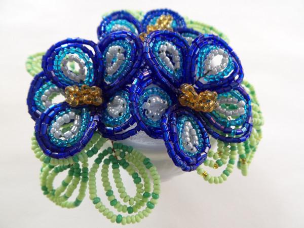 Blaue Blümchen, Perlenblume