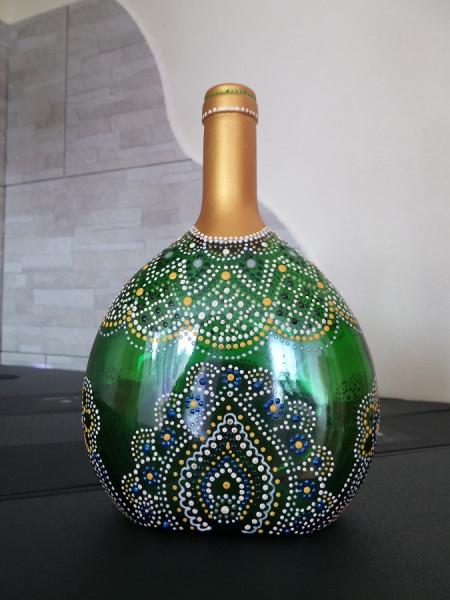 Deko - Weinflasche