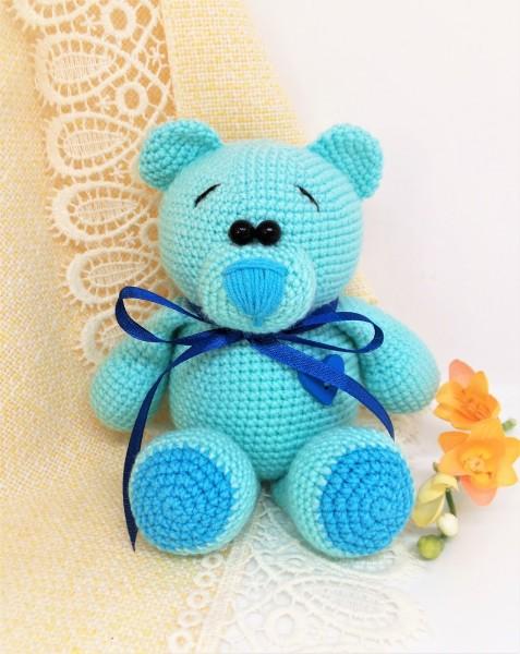 Gehäkelter Bär, Kuscheltier Teddy, Amigurumi